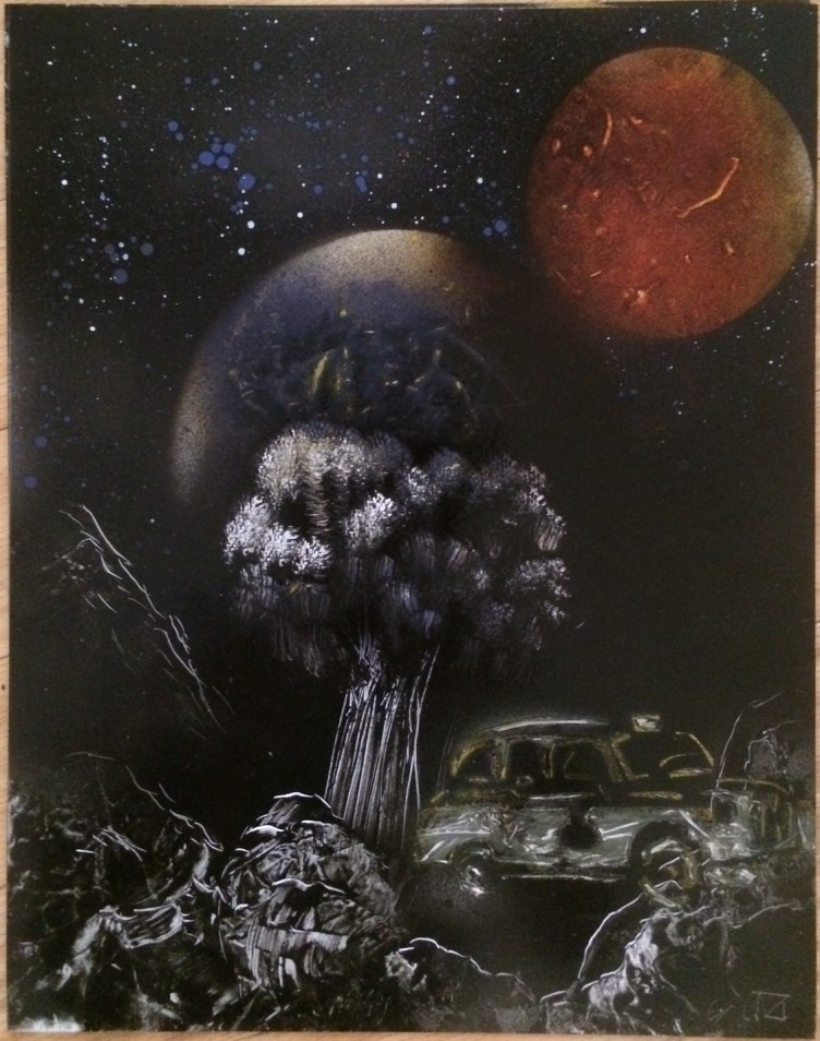 Spray Paintings for Sale Online - Fantasy Spray Paint Art