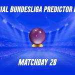 Bundesliga Predictor Picks: Matchday 28