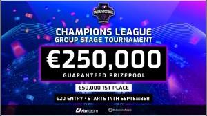 Fanteam's UEFA Champions League €250,000 fantasy football game