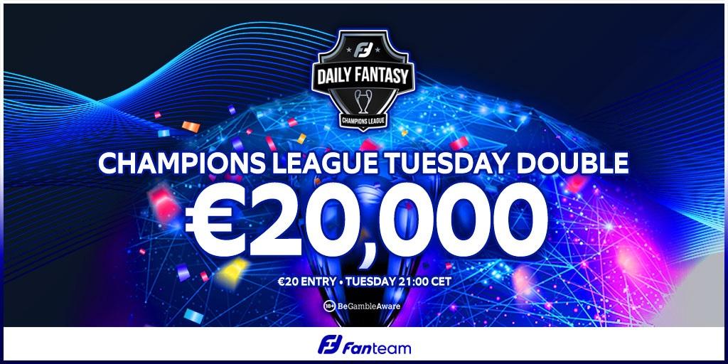 FanTeam Champions League daily fantasy football