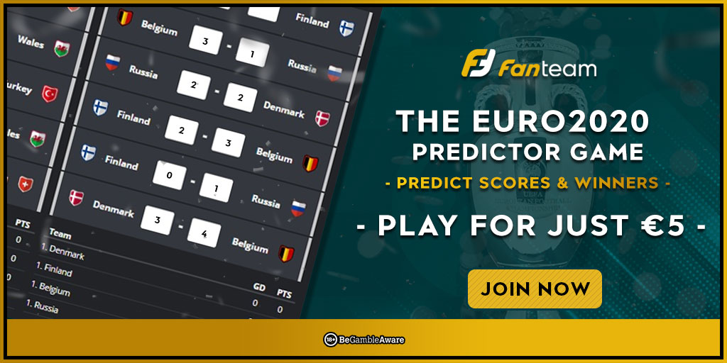How to play the Euro 2020 Predictor Game lobby big