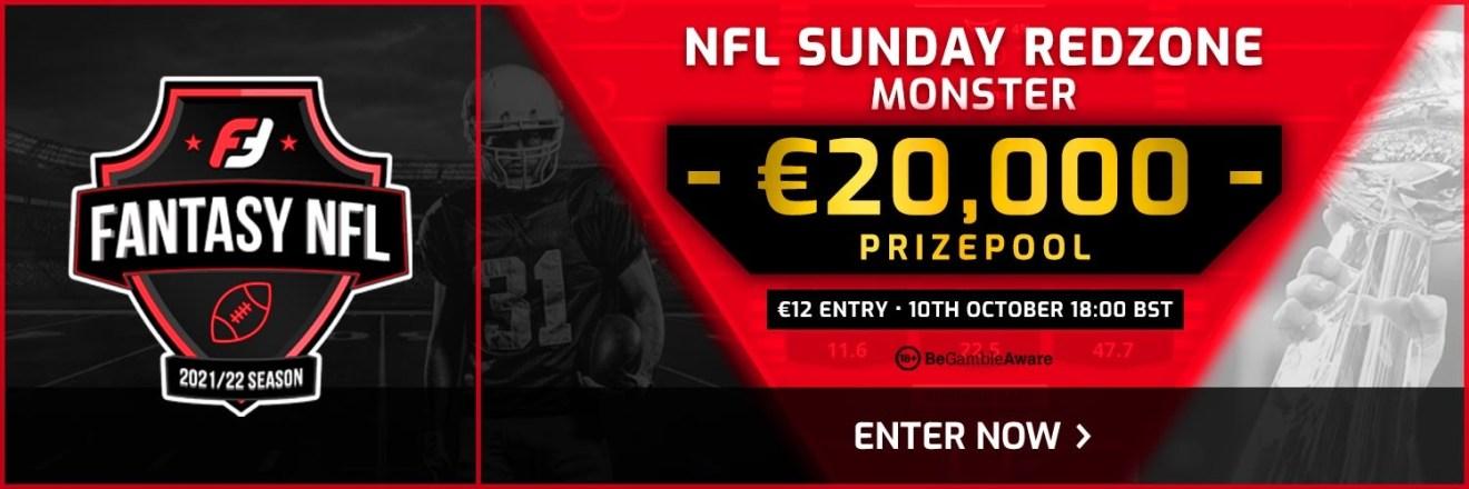 NFL Week 5 Weekly Monster on FanTeam