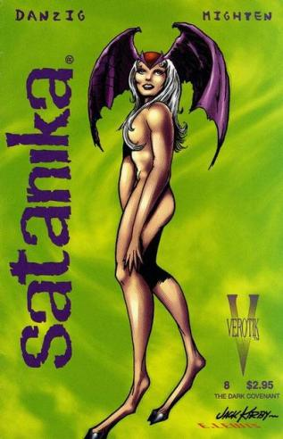 Satanika #8 variant cover