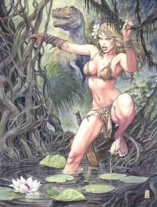 Savage Wolverine #2 Manara variant