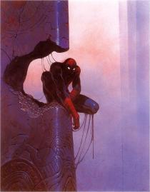 Spider-Man by Moebius
