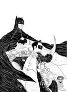 Batman and Robin commission