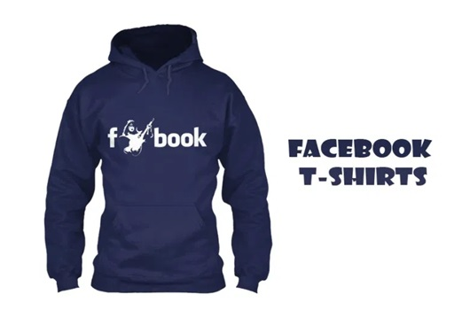Facebook T-Shirts – How to Make and Buy Facebook T-Shirts