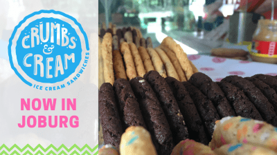 Crumbs & Cream Opened in Johannesburg