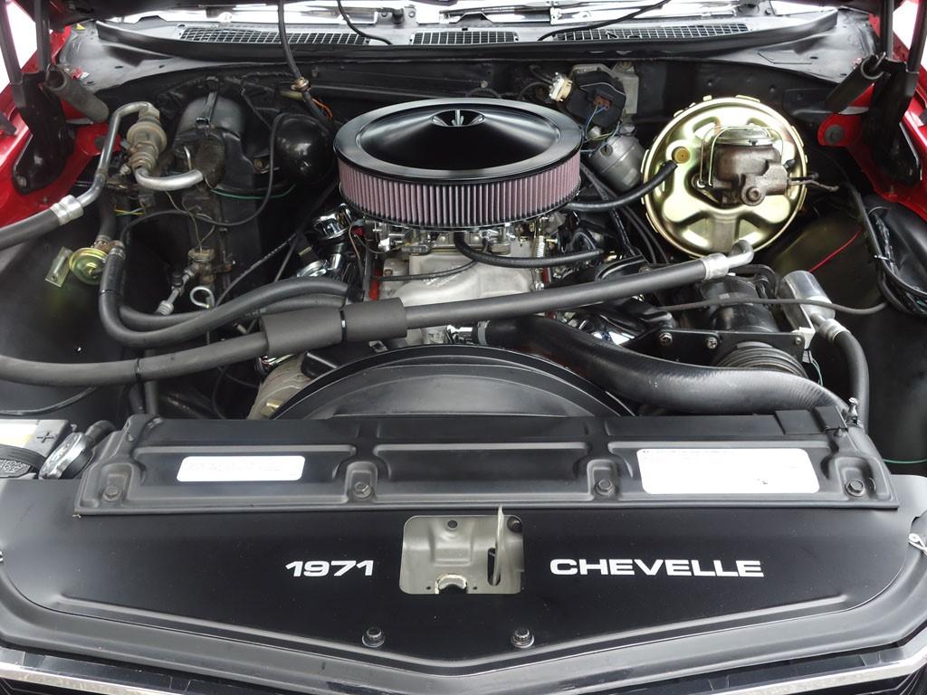 1971 Chevelle Engine