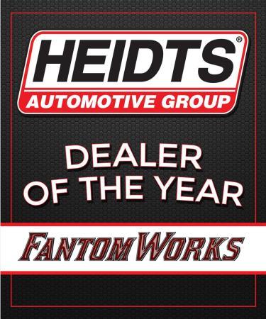 Heidts Dealer of the Year FantomWorks