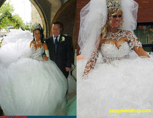 21 Awesomely Bad Wedding Dresses