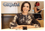 INTERVIEW: Grimm star Bitsie Tulloch (Juliette) Live from San Diego ComicCon 2014 (VIDEO)