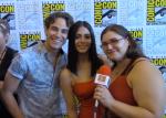 INTERVIEW: Shadowhunters stars Alberto Rosende (Simon) & Emeraude Toubia (Izzy) - San Diego Comic Con 2017