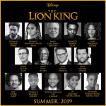 FIRST LOOK: Disney's Live Action 'The Lion King' All Star Cast!
