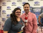 INTERVIEW: George Newbern -  Justice League vs Fatal Five - WonderCon 2019