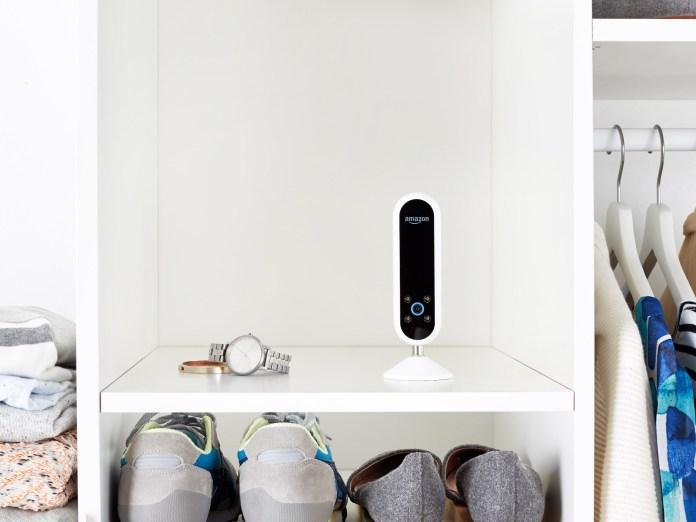 Echo Look on Closet Shelf