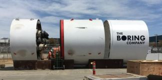 The Boring Company tunnel boring machine the Godot