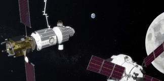 Lunar space stations like this could be in orbit around the moon