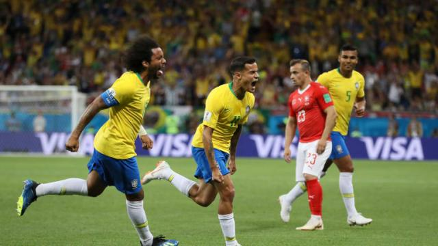 Match 11: Brazil 1-1 Switzerland