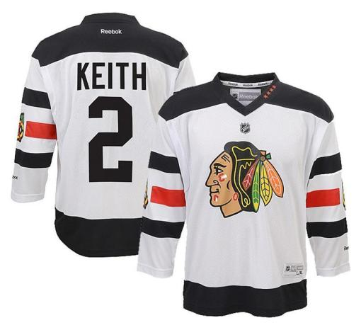 NHL Duncan Keith Stadium Series Jersey Fanwears