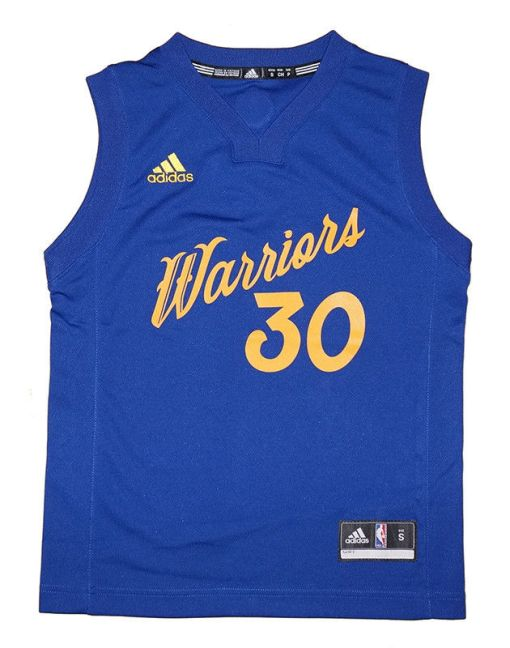 Stephen Curry Golden State Warriors '16 Christmas Day Replica Jersey