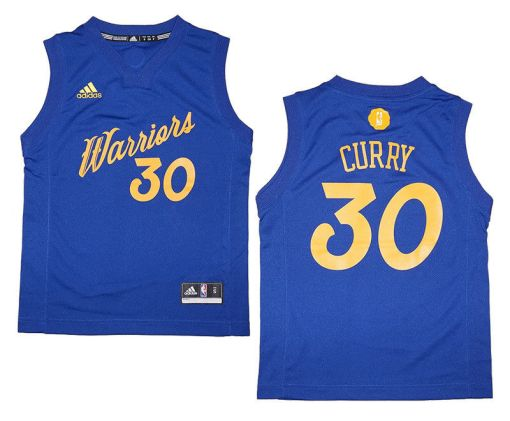 Stephen Curry Golden State Warriors NBA Replica Jersey