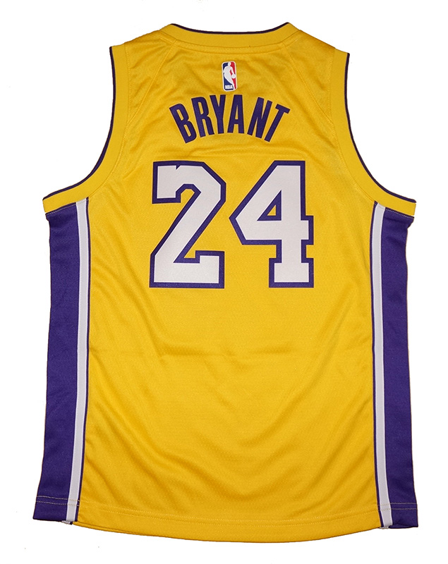 Youth Nike Kobe Bryant Los Angeles Lakers Gold Swingman Jersey ... ab522896a