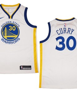 timeless design f48f8 b4ccf Youth Nike Golden State Warriors #30 Stephen Curry White ...