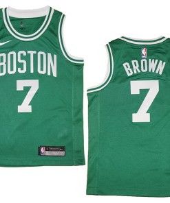 Jaylen Brown Kelly Boston Celtics NBA Swingman Jersey Fanwears
