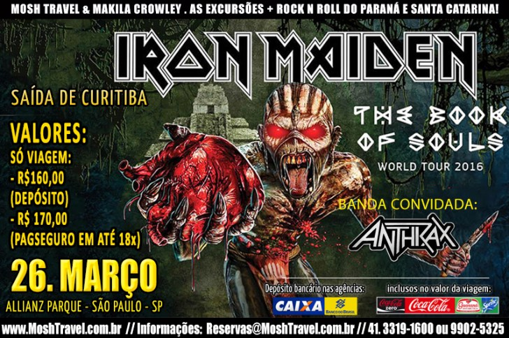 Iron Maiden SP 2016