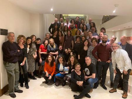 Los periodistas de Cáceres en la celebración del día de patrón de los periodistas, San Francisco de Sales