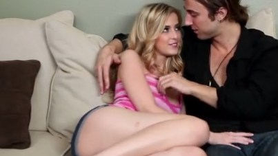 Abigaile Johnson with boyfriend