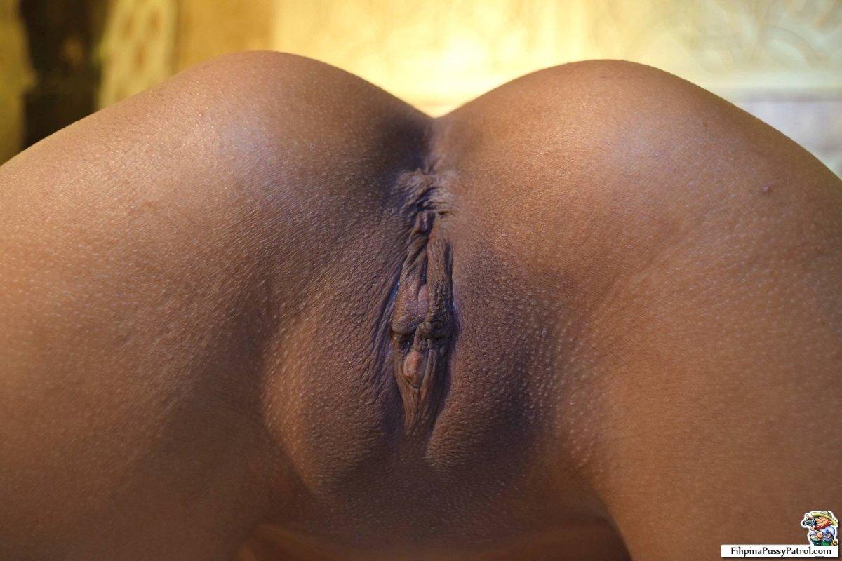 mikaela shaved pussy closeup
