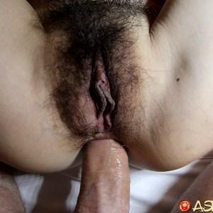 Horny Asian MILF fucked up the ass
