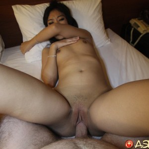 Small Tits And Shaved Pussy fuck in POV