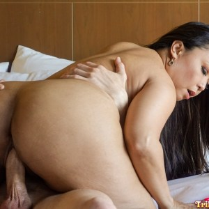 Thick Ass Pinay sliding down cock