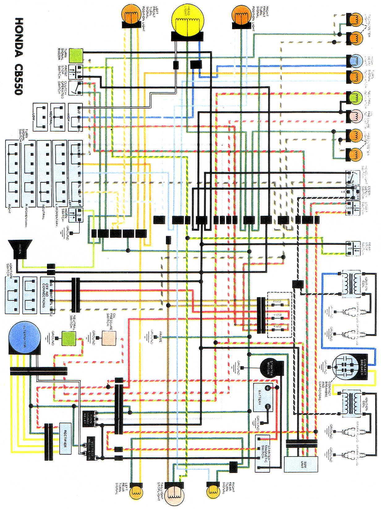 Admirable Honda Cm400 Wiring A Motorcycle Basic Electronics Wiring Diagram Wiring Cloud Peadfoxcilixyz