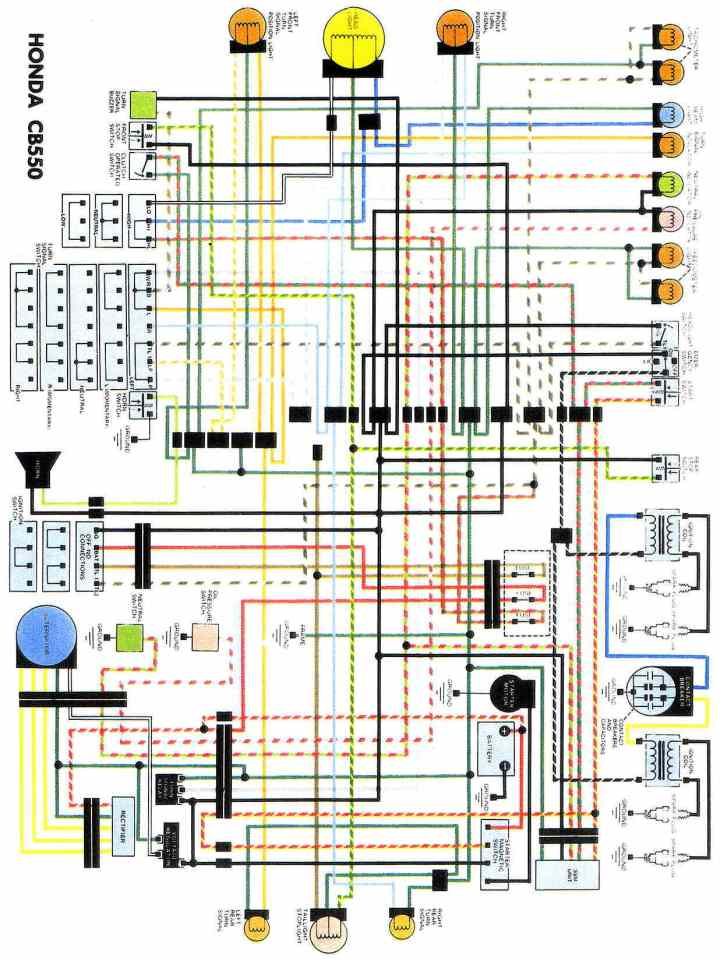 Cm 400 Wiring Diagram - Wiring Schematics Honda Cm Wiring A Motorcycle on