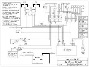 Ignition circuit schematic  Ninja250Wiki