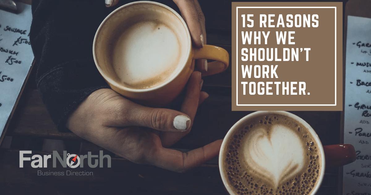 we shouldn't work together