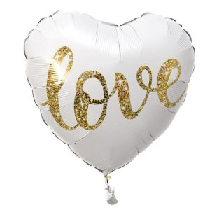 Love Heart Helium Balloon – 46 cm
