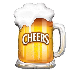 Cheers Beer Mug Balloon