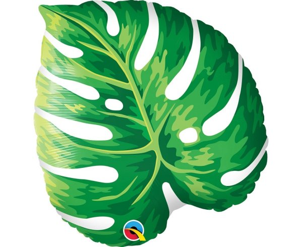 Leaf Tropical Helium Balloon | Faraday Helium Balloons Delivery in Geneva