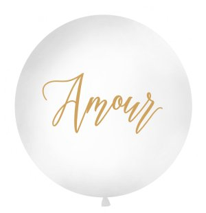 """Amour"" latex balloon"