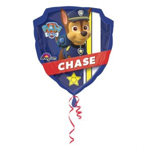 Paw Patrol Police Badge Balloon
