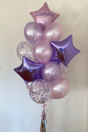 "Personalized balloon set ""Déborah�"