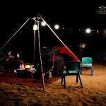 BEACH CAMPING & MOVIE NIGHT