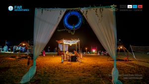 THE GRAND PREMIUM BEACH SWANK PARTY   BOATING, CAMPING, DINNER, MOVIE NIGHT