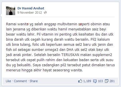 Dr_Hamid_Arshat - vitamin hamil