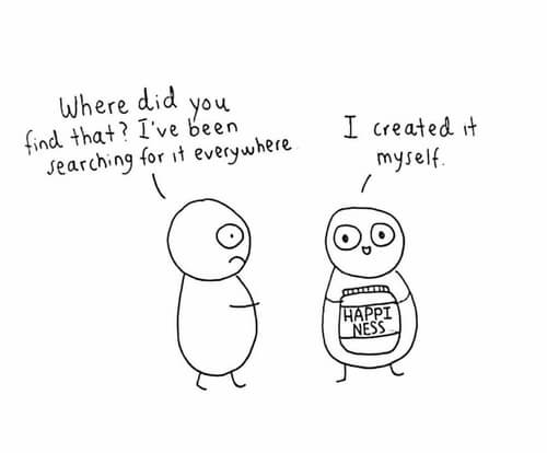 """[happiness jar]""""Where did you find that? I've been searching for it everwhere"""" """"I created it myself"""""""
